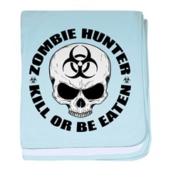 Zombie Hunter 4 baby blanket