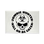 Zombie Hunter 4 Rectangle Magnet (10 pack)