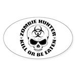 Zombie Hunter 4 Sticker (Oval)