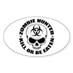 Zombie Hunter 4 Decal