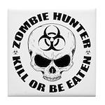 Zombie Hunter 4 Tile Coaster