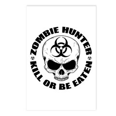 Zombie Hunter 4 Postcards (Package of 8)