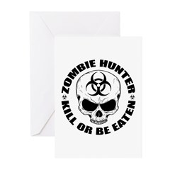 Zombie Hunter 4 Greeting Cards (Pk of 10)
