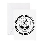 Zombie Hunter 4 Greeting Card