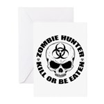 Zombie Hunter 4 Greeting Cards (Pk of 20)