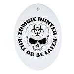 Zombie Hunter 4 Ornament (Oval)