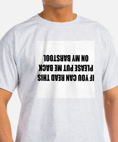 If you can read this... Ash Grey T-Shirt