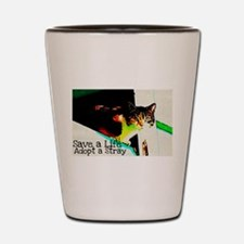 Adopt a Stray Shot Glass