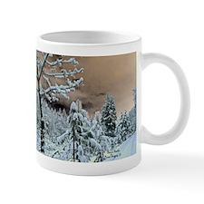 Winter Scene Snowy Driveway Mug