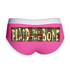 Plaid to the bone Women's Boy Brief