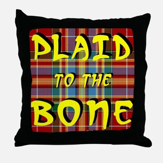 Unique Plaid Throw Pillow