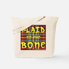 Cool Plaid Tote Bag