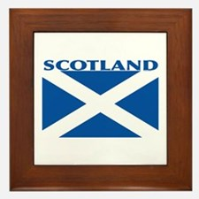 Cute Flag of scotland Framed Tile