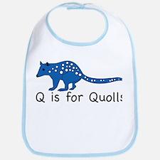 Q is for Quolls Bib