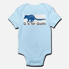 Q is for Quolls Infant Bodysuit