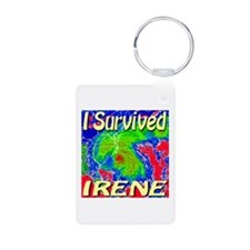 I Survived Irene Keychains