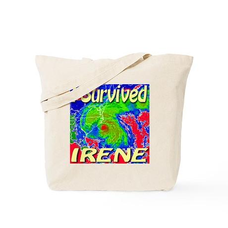 I Survived Irene Tote Bag