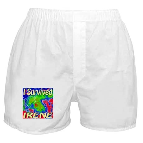 I Survived Irene Boxer Shorts