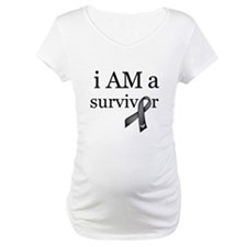 i AM a survivor (Black) Shirt
