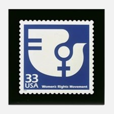 equal rights... Tile Coaster