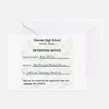 'Breakfast Club Detention' Greeting Card