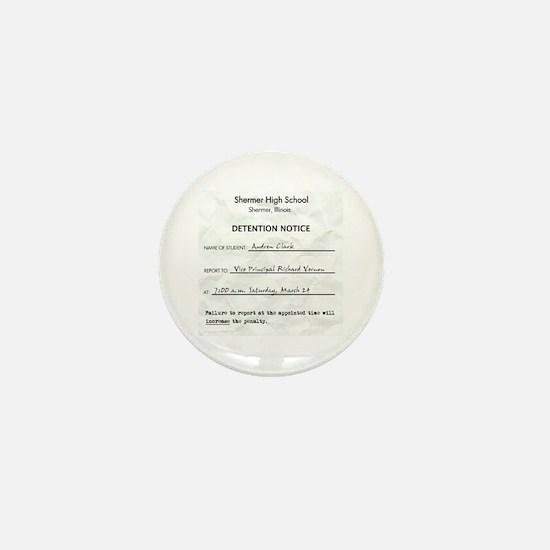 'Breakfast Club Detention' Mini Button