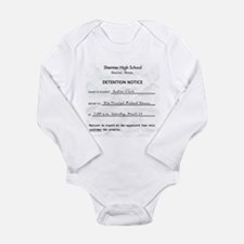 'Breakfast Club Detention' Long Sleeve Infant Body