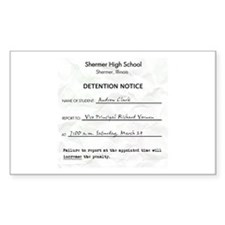 'Breakfast Club Detention' Decal