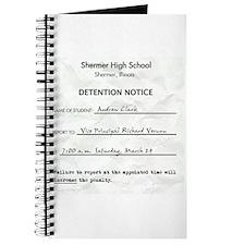 'Breakfast Club Detention' Journal