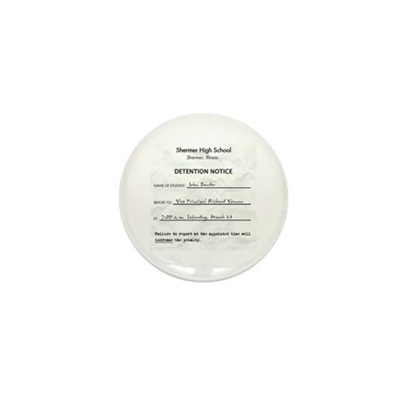 'Breakfast Club Detention' Mini Button (10 pack)