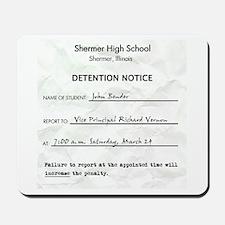 'Breakfast Club Detention' Mousepad
