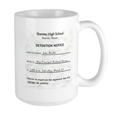 'Breakfast Club Detention' Mug