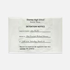 'Breakfast Club Detention' Rectangle Magnet