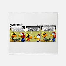 0322 - Twenty-second airborne Throw Blanket