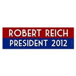 Robert Reich for President 2012 sticker