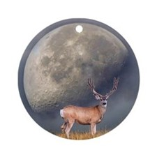Dream buck 2 Ornament (Round)