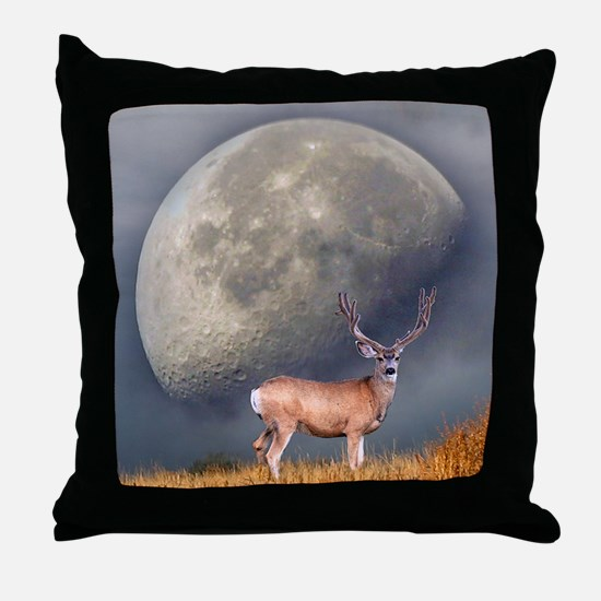 Dream buck 2 Throw Pillow