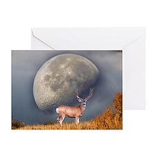 Dream buck 2 Greeting Card