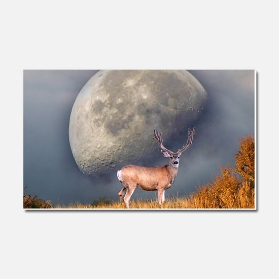 Dream buck 2 Car Magnet 20 x 12