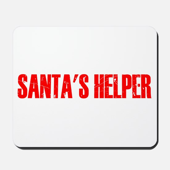 Santa's Helper Mousepad