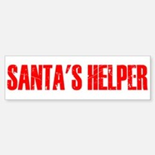 Santa's Helper Sticker (Bumper)