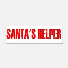 Santa's Helper Car Magnet 10 x 3