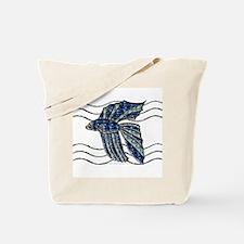Gem Beta Fish Tote Bag