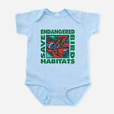 Save Bird Habitats Infant Bodysuit