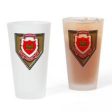 US Army Sapper Essayons Drinking Glass