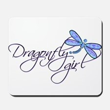 Dragonfly Girl Mousepad