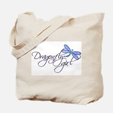 Dragonfly Girl Tote Bag