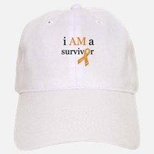 i AM a survivor (Orange) Baseball Baseball Cap