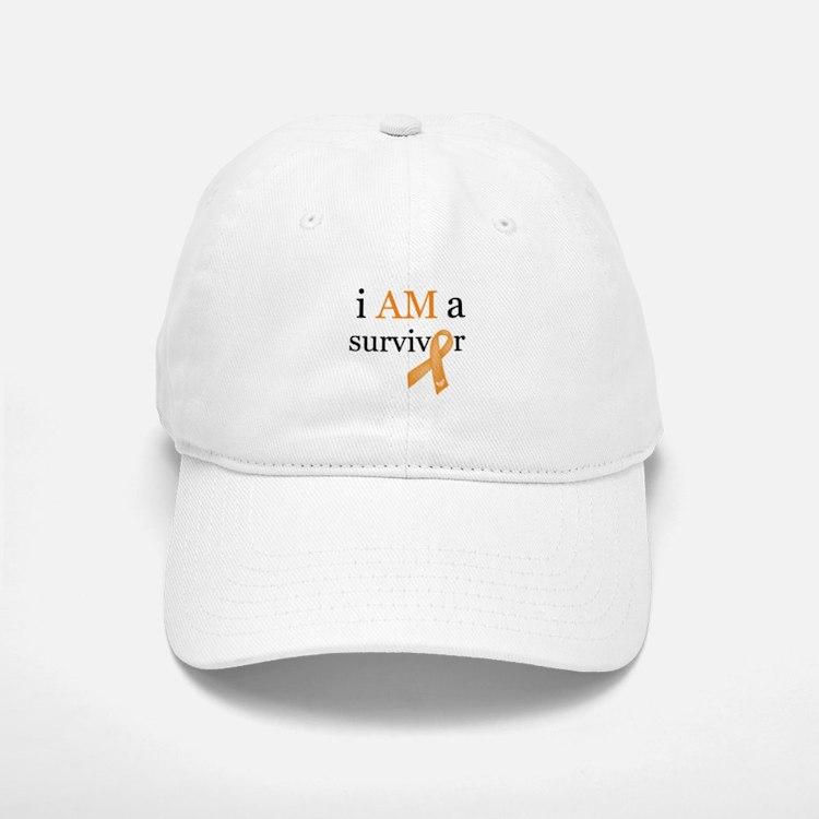 i AM a survivor (Orange) Hat