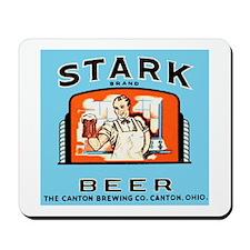 Ohio Beer Label 4 Mousepad